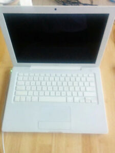 WT MACBOOK A1181/2CORE/2GBRAM/120HDD/CAM/OFFICE/OS X 10.6.8/$230