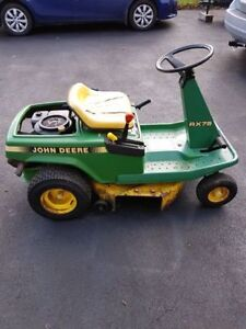 WANTED! john deere rx75 lawntractor parts
