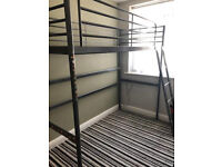 Tall single bed frame