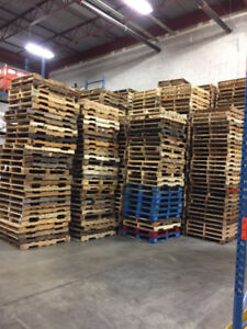 Excellent Condition Standard and Heavy Duty Pallets / Skids!!