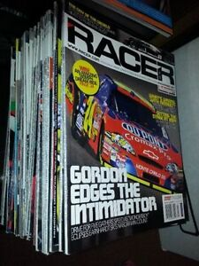 35 issues of Racer magazine F1 2006 2007 2008