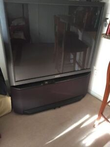 "53"" SONY TV WITH STEREO SOUND"
