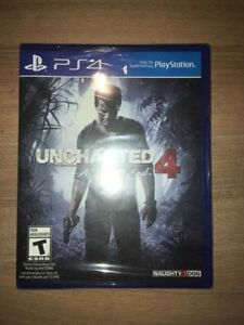 *NEW* Uncharted 4 for PS4