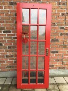 Beautiful Painted Red Door London Ontario image 1