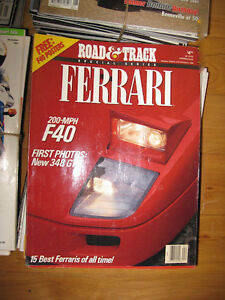 Car and Motorcycle Magazines