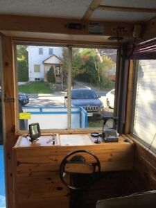 Houseboat with Trailer