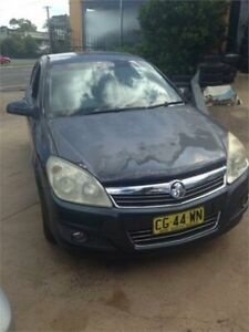 2008 Holden Astra AH MY08 CD Blue 4 Speed Automatic Hatchback