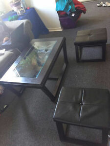 coffee table with two tools for 25.00