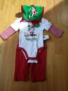 Holiday baby clothing new and gently used