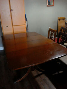 1950s Bogdon & Gross Table and 6 Chairs