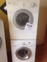 "24"" whirlpool space saver stackable washer & dryer"