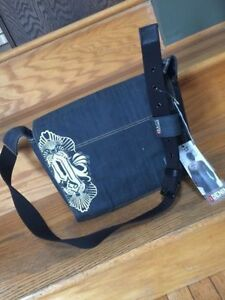 """Last Minute Gift! Messenger Bag 13"""" Denim New with tags"""
