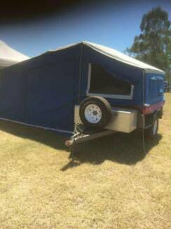 2011 FULLY OFF ROAD CAMPER TRAILER
