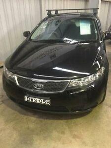 2011 Kia Cerato TD MY11 S Black 6 Speed 5 Sp Manual Sedan Macquarie Hills Lake Macquarie Area Preview