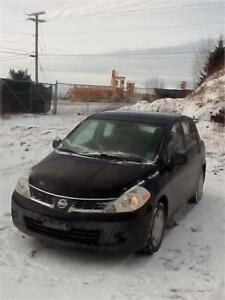 2008 NISSAN VERSA  H/B 5DOOR AUTO    KMS ONLY $3650  SOLD