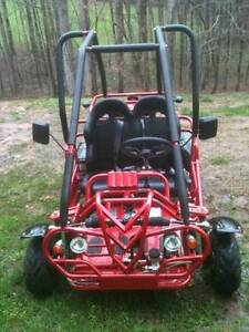 Used Go Kart For Sale Red Less Than 10 Hours On Motor Ebay