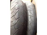 "17"" motorbike tyres"