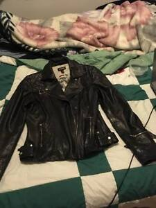 Danier Leather biker style jacket with lots of style!