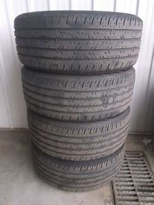 CONTINENTAL CONTIPROCONTACT 235/50/18 97H! ONE SET OF USED TIRES