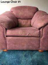 World's Most Comfortable Lounge Chairs (x 2) - Yours Free! Wollstonecraft North Sydney Area Preview