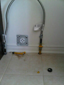 Gas lines installation for stoves, BBQs, dryers & Hook Up