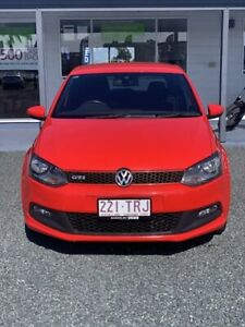 2013 Volkswagen Polo 6R MY14 GTI DSG Flash Red 7 Speed Sports Automatic Dual Clutch Hatchback Mackay Mackay City Preview