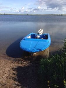 15ft Princecraft Boat and Trailer