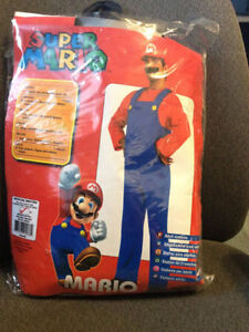 Men brand new Mario costume