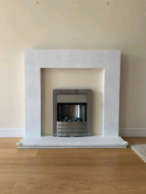 Electric fireplace inset /free standing