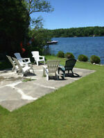 Rent an A frame cottage on Patterson Lake
