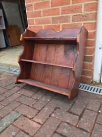 Welsh Dresser Top Solid Wood