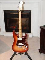 For Trade USA Made Fender Double Fat Stratocaster Sienna Burst