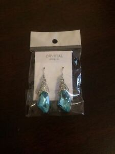 **brand new** turquoise earrings