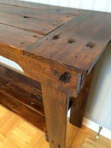 Rustic Sofa / Console Table - Table Console