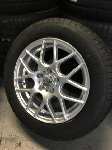 16 Inch Rtx Envy Wheels And Tires 5x112 Or 5x114 3