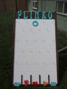 PLINKO Kissing Game & Easel for Weddings