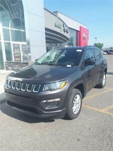 **BRAND NEW 2018 JEEP COMPASS SPORT** 0% FINANCING AVAILABLE !!