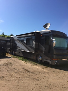 2006 AMERICAN COACH 42 FT TAG AXLE DIESEL PUSHER