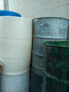 Plastic, Steel and Cardboard Drums / Barrels