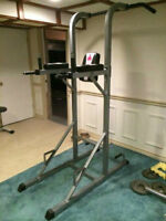 Ironman Power Tower - Chin/Pull Up, Knee Raise VKR, Dip, Push Up