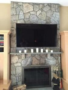55' LG plasma flat screen /with wall-mount