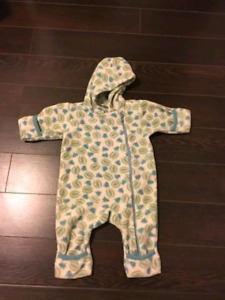 Landsend Fleece Bunting Suit