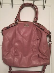 Perfect Mother's Day gift! Authentic Dusty Rose Coach Purse