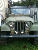 1975 Jeep CJ Convertible