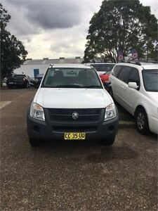 2008 Holden Rodeo RA LX White Automatic Cab Chassis Macquarie Hills Lake Macquarie Area Preview