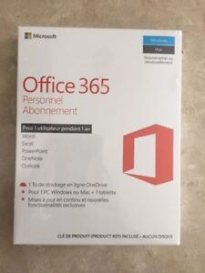 Office 365 Personnel - 1 an