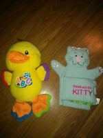 Singing ABC Duck and Puppet Book