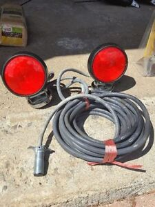 Magnetic towing lights for sale