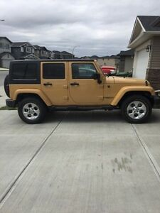 2013  Sahara jeep unlimited