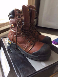 Dakota leather safety boots